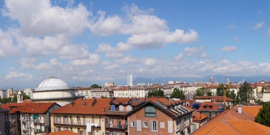 Penthouse for rent of 320 sq m with wide terraces in Gran Madre – Turin