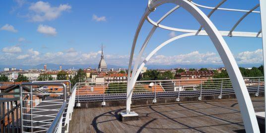 Torino – Penthouse in Gran Madrea area  Double Terraces
