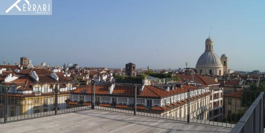 Torino – Penthouse in Quadrilatero Romano area  215 sq m + Double Terraces of 70 sq m